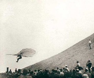 lilienthal in flight - small